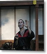 Maryland Renaissance Festival - Johnny Fox Sword Swallower - 1212122 Metal Print by DC Photographer
