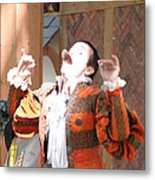 Maryland Renaissance Festival - Johnny Fox Sword Swallower - 121219 Metal Print by DC Photographer