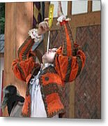 Maryland Renaissance Festival - Johnny Fox Sword Swallower - 121244 Metal Print by DC Photographer