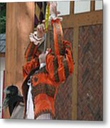 Maryland Renaissance Festival - Johnny Fox Sword Swallower - 121245 Metal Print by DC Photographer