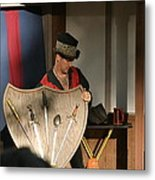 Maryland Renaissance Festival - Johnny Fox Sword Swallower - 121275 Metal Print by DC Photographer