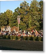 Maryland Renaissance Festival - Jousting And Sword Fighting - 12124 Metal Print