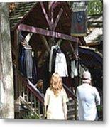 Maryland Renaissance Festival - Merchants - 121264 Metal Print by DC Photographer