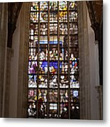 Mary's Deathbed Religious Art In Oude Kerk Metal Print