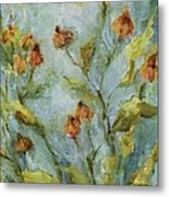 Mary's Garden Metal Print