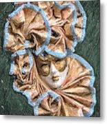 Maschera Di Carnevale Metal Print