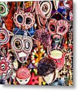 Mask Me In El Casco By Diana Sainz Metal Print