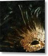 Mask Of Evening Metal Print