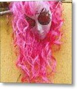 Mask Pastel Chalk 2 Metal Print