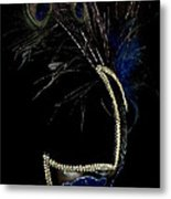 Mask Series 13 Metal Print