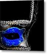 Mask Series 14 Metal Print