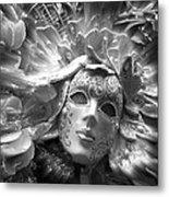Masked Angel Metal Print