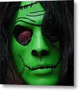 Masks Fright Night 4 Metal Print