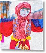 Maslenitsa Dolls 4. Russia Metal Print