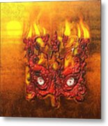 Masque Of The Red Death Metal Print