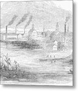 Massachusetts Lawrence Metal Print