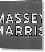 Massey Harris Metal Print