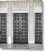Massive Doors Metal Print