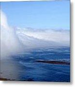Massive Fog Bank Over Ocean Metal Print