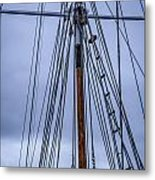 Mast And Rigging Series Number Two Metal Print