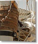 Mast Hoops II Metal Print