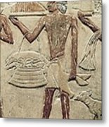 Mastaba Of Princess Idut. 24th C. Bc Metal Print