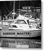 Master Of The Harbor Metal Print by Melinda Ledsome