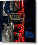 Master Of The Old Red Barn Metal Print