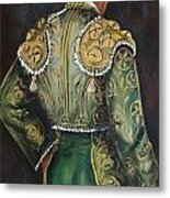 Matador In Green Metal Print