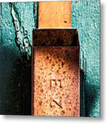 Match Box Metal Print