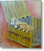 Maternity Ward Metal Print