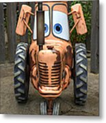 Mater's Tractor Metal Print