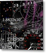 Math Science Invention Metal Print by R Kyllo