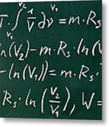 Mathematics Metal Print