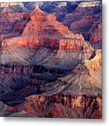 Mather Point Twilight Metal Print