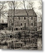 Mather's Grist Mill Metal Print