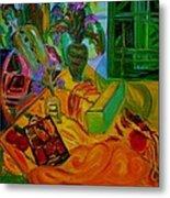 Matisse Table Metal Print