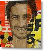 Mats Hummels Metal Print by Corporate Art Task Force