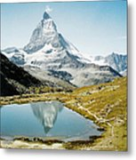 Matterhorn Cervin Reflection Metal Print