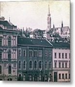 Matthias Church And Vizivaros Metal Print