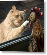 Matty And Rooster #1 Metal Print