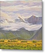 Matukituki Valley Metal Print