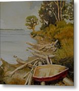Maude Bay Metal Print by Sue  Darius