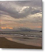 Maui Beach Metal Print by Francesco Emanuele Carucci