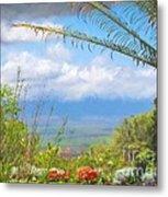 Maui Botanical Garden Metal Print