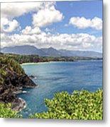 Maui Coast Metal Print