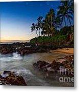 Maui Cove - Beautiful And Secluded Secret Beach. Metal Print