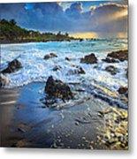 Maui Dawn Metal Print by Inge Johnsson