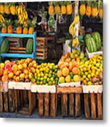 Maui Fruits And Vegetables Metal Print