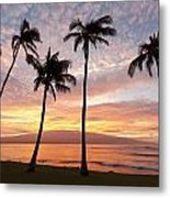 Maui Sunrise Metal Print